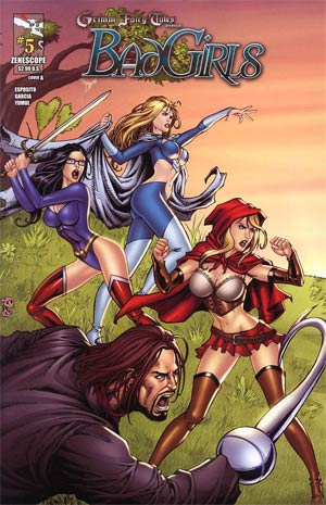 Grimm Fairy Tales Bad Girls #5 Cover A Alfredo Reyes