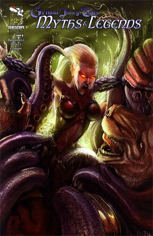 Grimm Fairy Tales Myths & Legends #23 Cover B Eric J