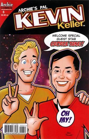 Kevin Keller #6 Regular Dan Parent Cover