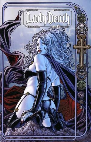 Lady Death Vol 3 #23 Sultry Cover