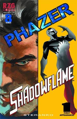 Phazer #8 Regular Jim Steranko Cover