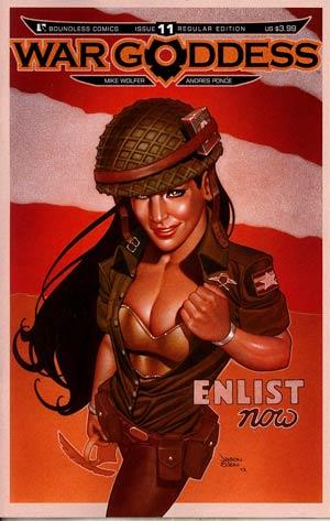 War Goddess #11 Regular Jason Eden Cover