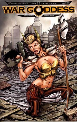 War Goddess #11 Variant Sultry Cover