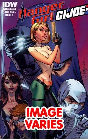DO NOT USE (DUP) Danger Girl GI Joe #5 Regular Cover (Filled Randomly With 1 Of 2 Covers)