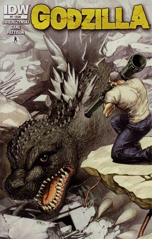 Godzilla Vol 2 #7 Cover A Regular EJ Su Cover