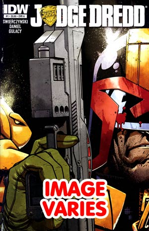 DO NOT USE Judge Dredd Vol 4 #1 1st Ptg Regular Cover (C With 1 Of 4 Covers)