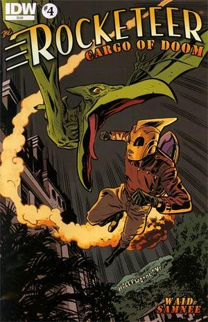 Rocketeer Cargo Of Doom #4 Cover A Regular Chris Samnee Cover