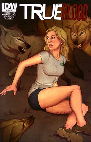 True Blood Vol 2 #7 Regular Jenny Frison Cover