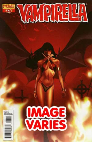 DO NOT USE (DUPLICATE LISTING) Vampirella Vol 4 #25 Regular Cover (Filled Randomly With 1 Of 3 Covers)