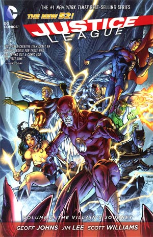 Justice League (New 52) Vol 2 The Villains Journey HC