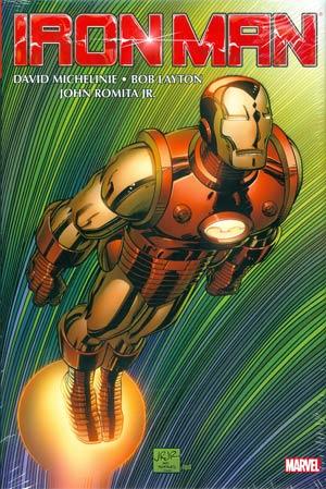 Iron Man By David Michelinie Bob Layton & John Romita Jr Omnibus Vol 1 HC Book Market John Romita Jr Cover