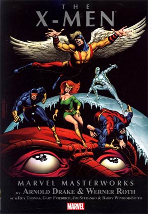 Marvel Masterworks X-Men Vol 5 TP Book Market Edition