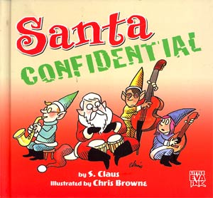Santa Confidential HC Regular Edition