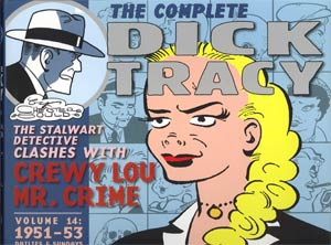 Complete Chester Goulds Dick Tracy Vol 14 1951 - 1953 HC