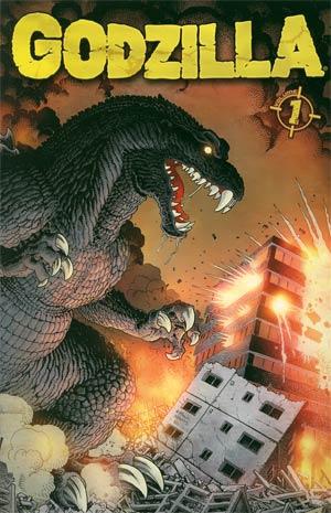 Godzilla Ongoing Vol 1 TP