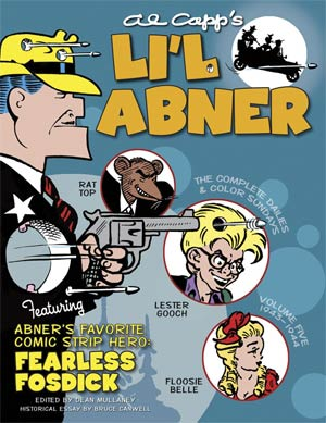 Lil Abner Complete Dailies & Color Sundays Vol 5 1943-1944 HC