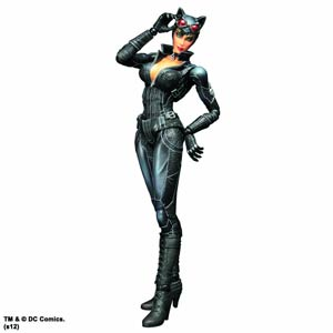 Batman Arkham City Play Arts Kai Catwoman Action Figure