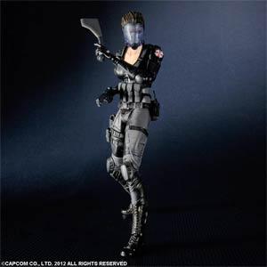 Resident Evil Operation Raccoon City Play Arts Kai Lupo Action Figure