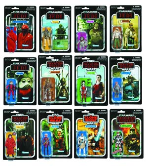 Star Wars Vintage Action Figure Assortment Case 201208