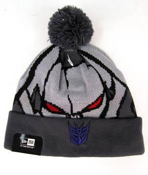 Woven Biggie Knit Cap - Megatron