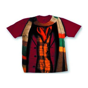 Doctor Who Fourth Doctor Costume T-Shirt Large