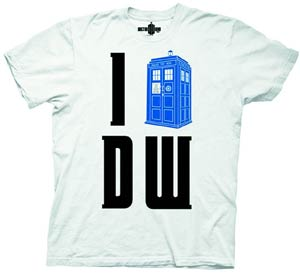 Doctor Who I TARDIS DW T-Shirt Large