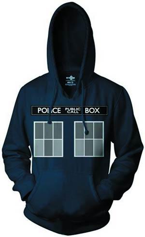 Doctor Who TARDIS Costume Hoodie Large