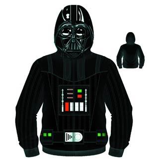Star Wars Darth Vader Sith Full Face Hooded Fleece Medium
