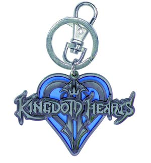 Kingdom Hearts Logo Pewter Keyring
