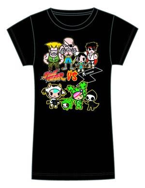 Street Fighter x tokidoki Brawl Juniors T-Shirt Large