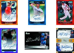 Bowman 2012 Draft Picks & Prospects Baseball Trading Cards Box