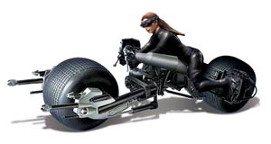 Batman The Dark Knight Rises Batpod With Catwoman 1/18 Scale Model Kit
