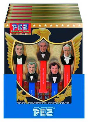 PEZ Presidents Of The United States Gift Set Vol III