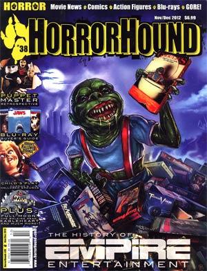 HorrorHound #38 Nov / Dec 2012