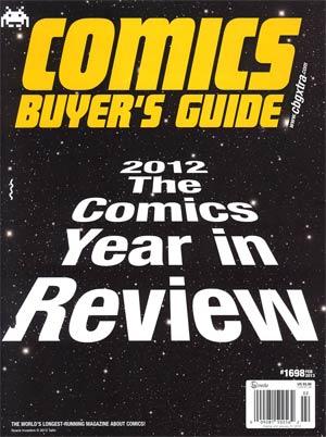 Comics Buyers Guide #1698 Feb 2013