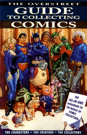 Overstreet Guide To Collecting Comics SC Direct Market Don Newton Cover