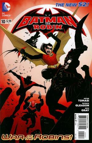 Batman And Robin Vol 2 #10 Cover B 2nd Ptg