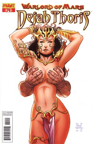 Warlord Of Mars Dejah Thoris #14 Incentive Janet Jackson Homage Risque Variant Cover