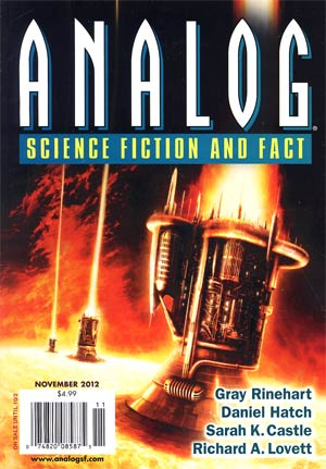 Analog Science Fiction And Fact Vol 132 #11 Nov 2012