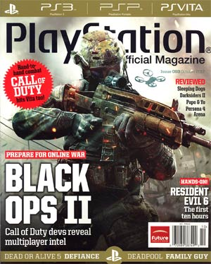 Playstation The Official Magazine #63 Oct 2012