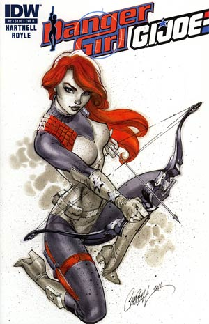 Danger Girl GI Joe #2 Cover B J Scott Campbell GI Joe Character