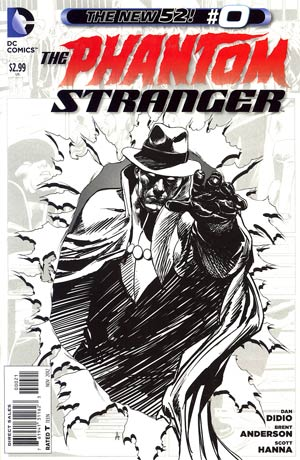 Phantom Stranger Vol 4 #0 Incentive Brent Anderson Sketch Cover