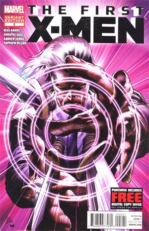 First X-Men #2 Incentive Mike Deodato Jr Variant Cover