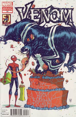 Venom Vol 2 #24 Variant Amazing Spider-Man 50th Anniversary Cover