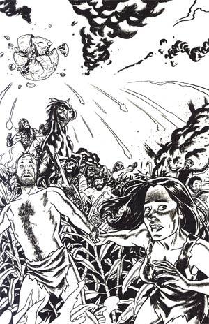 Planet Of The Apes Cataclysm #1 Incentive Joe Quinones Virgin Sketch Cover