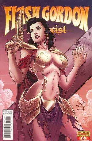 Flash Gordon Zeitgeist #6 Incentive Negligee Variant Cover