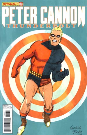 Peter Cannon Thunderbolt Vol 2 #1 Incentive George Tuska Classic Retro Variant Cover