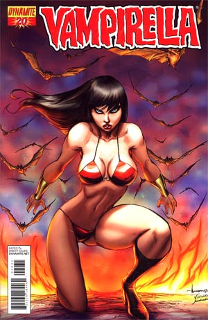 Vampirella Vol 4 #20 Incentive Ale Garza Risque Cover