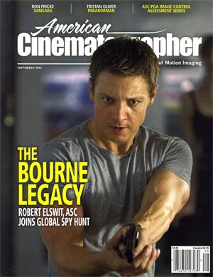 American Cinematographer Vol 93 #9 Sep 2012