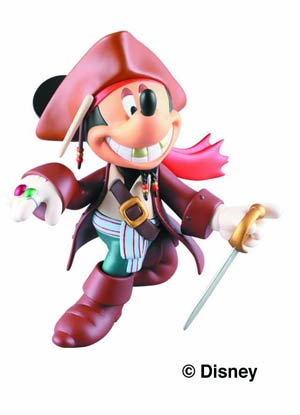 Disney Ultra Detail Figure - Mickey Jack Sparrow